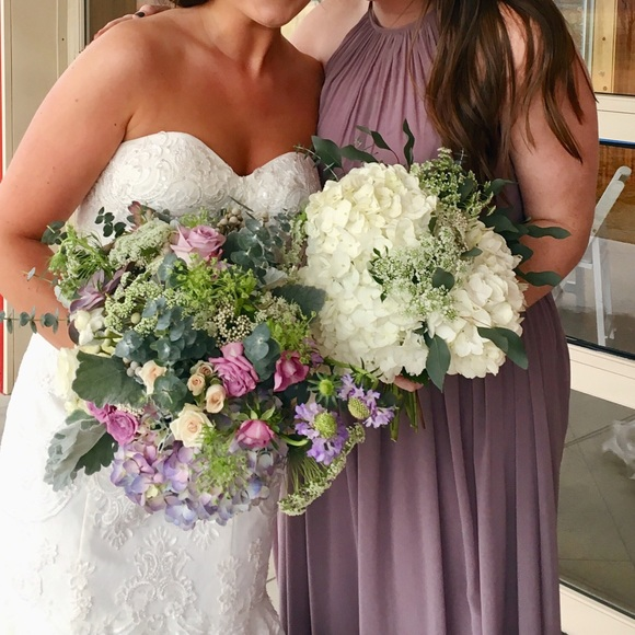 8a2c7190745 Azazie Dresses   Skirts - Azazie bridesmaid dress. Color  Dusk (grey purple